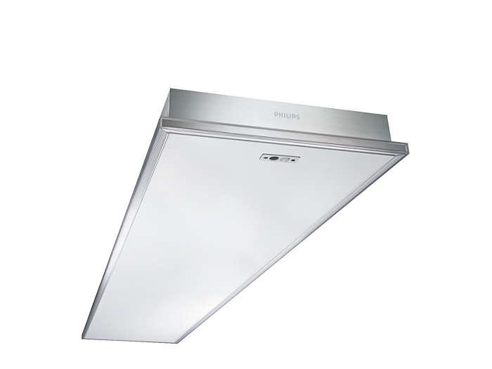 Savio TCS760 surface-mounted luminaire with color variation controller (CVC)