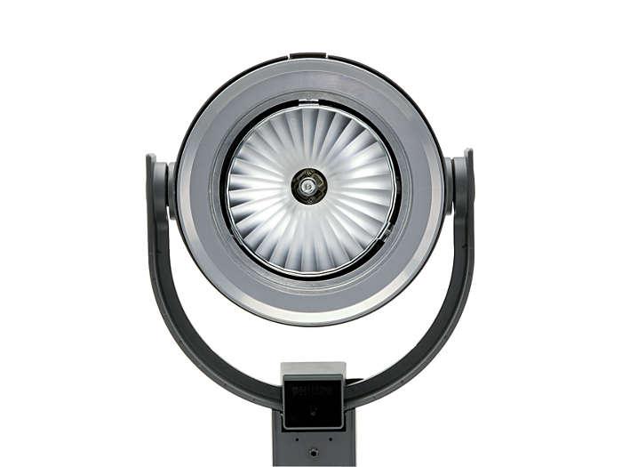 UrbanScene CGP700 urban-lighting luminaire with medium-beam optic (20º)