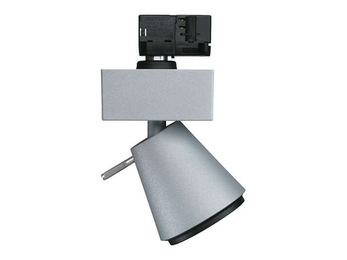 UnicOne Projector Micro MRS/LRS541 for track mounting, with discharge or halogen lamp and narrow or medium-beam optic