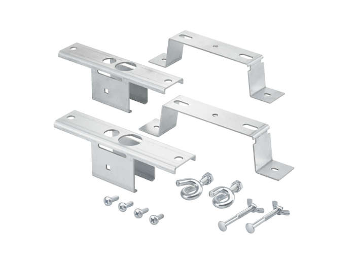 Mounting accessories (brackets and pigtail hooks)