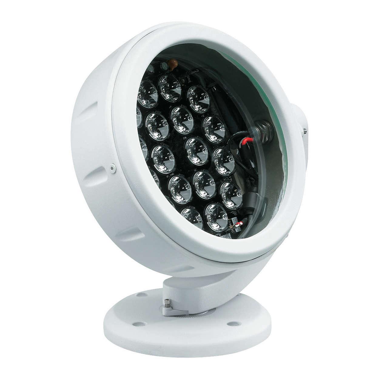 ColorBlast 6 – 실내 및 실외 겸용의 색상 변화 LED 스포트라이트(원형)