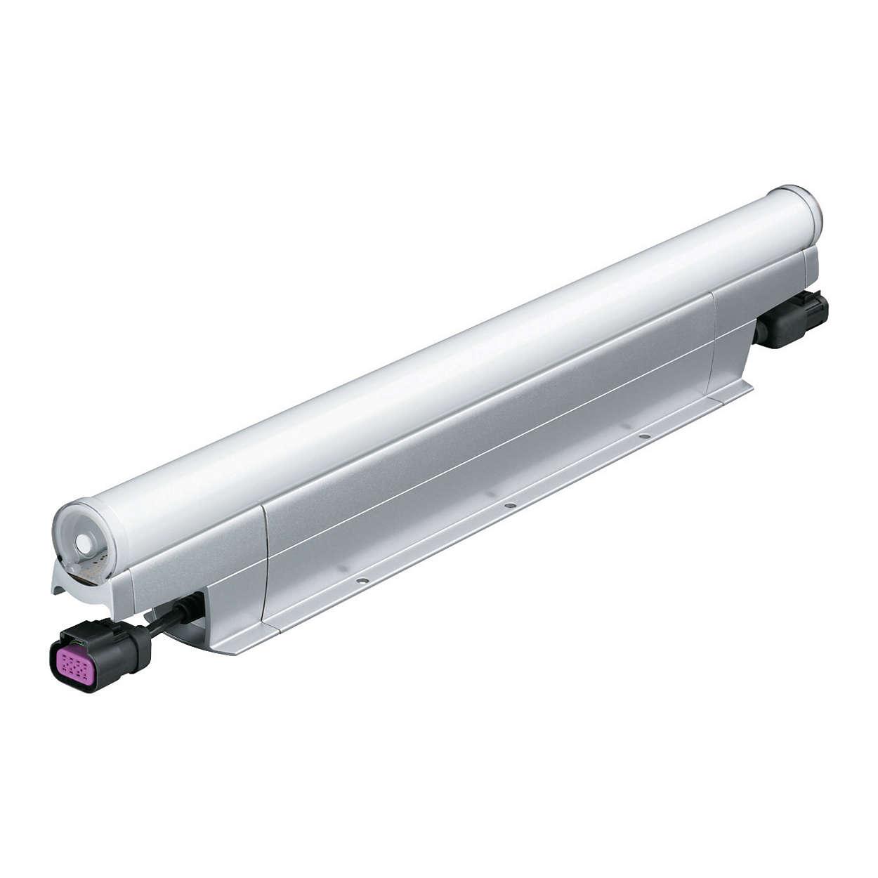 eW Accent MX Powercore — белый светодиодный прожектор прямого видения с высокоточным разрешением