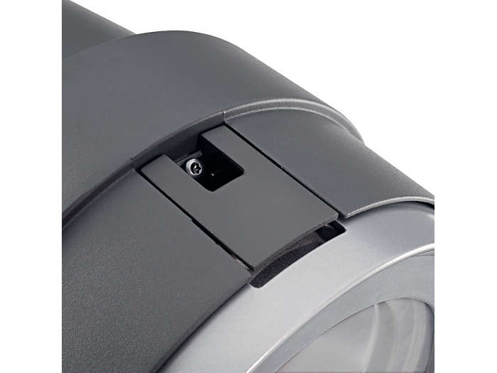 Opening clip with locking system