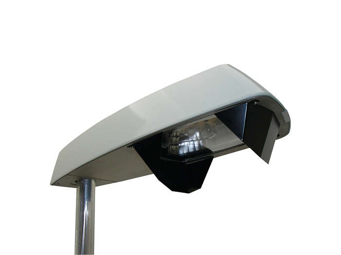 Koffer² SGP100 road lighting luminaire with louvres