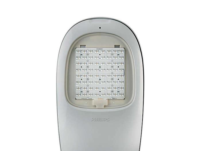 Iridium² LED optical system