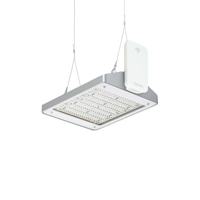 GreenWarehouse – wireless lighting system, giving you control of energy savings