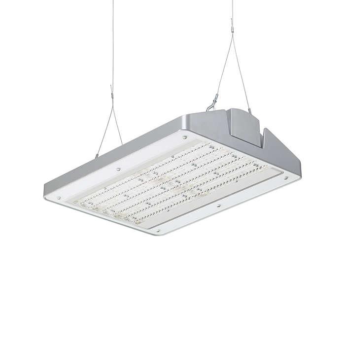 GentleSpace gen2 – the new standard in industrial high-bay lighting, combining functionality with design