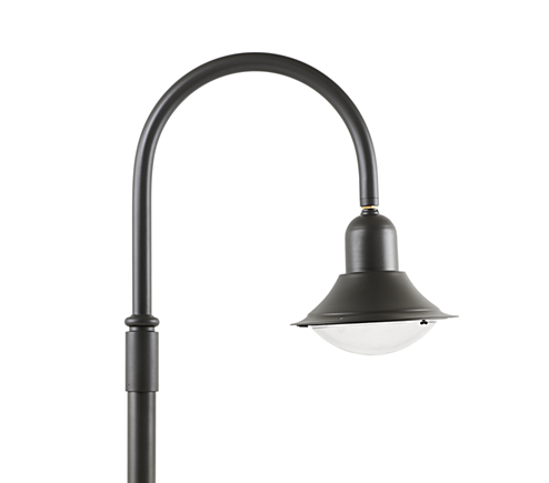 Citycurve gen2 retro style luminaire for both contemporary and heritage environments