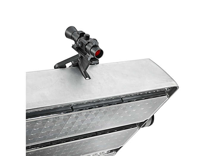 OptiVision LED BVP520 food-lighting luminaire with precision aiming device