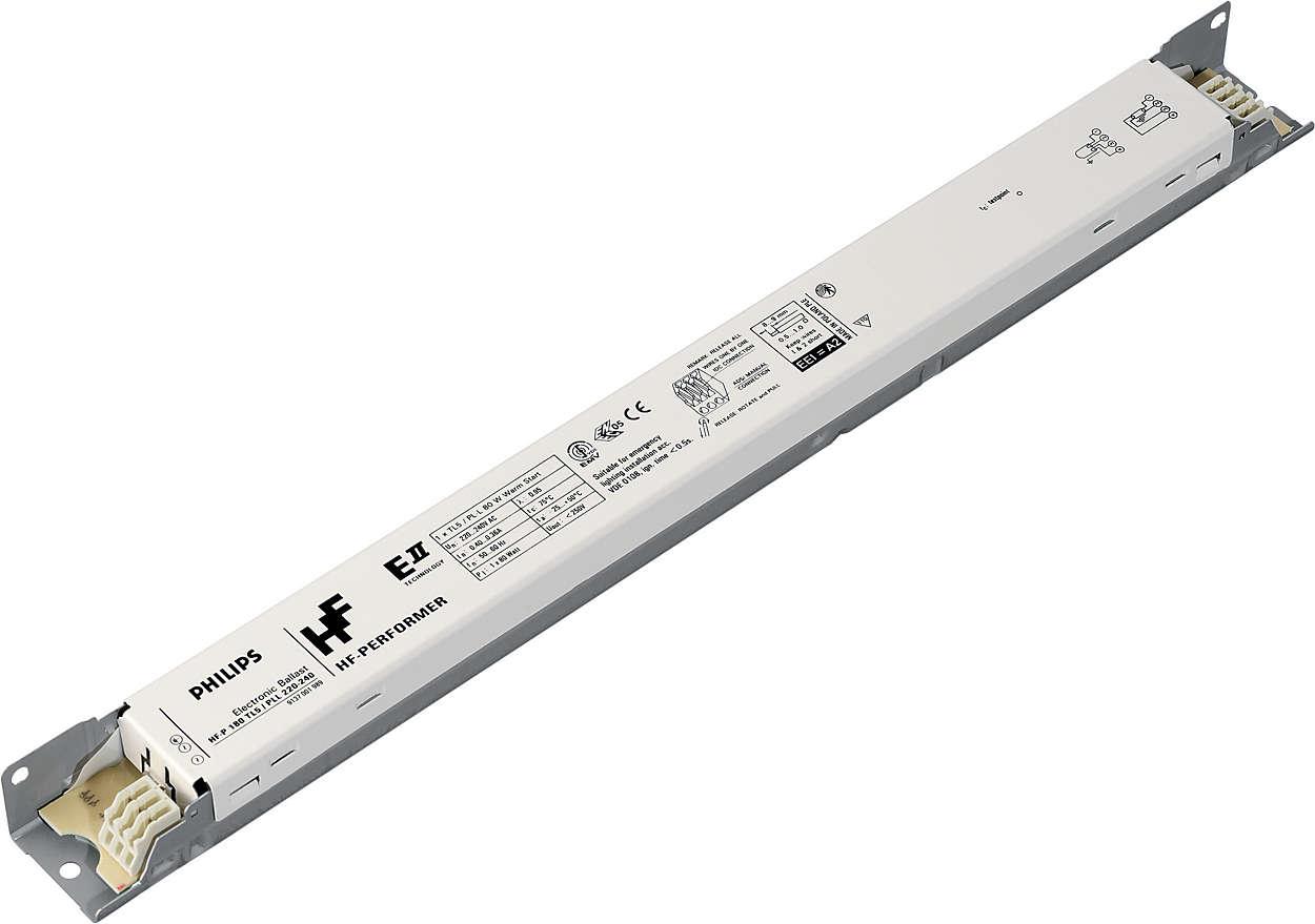 For flexibility in luminaire design