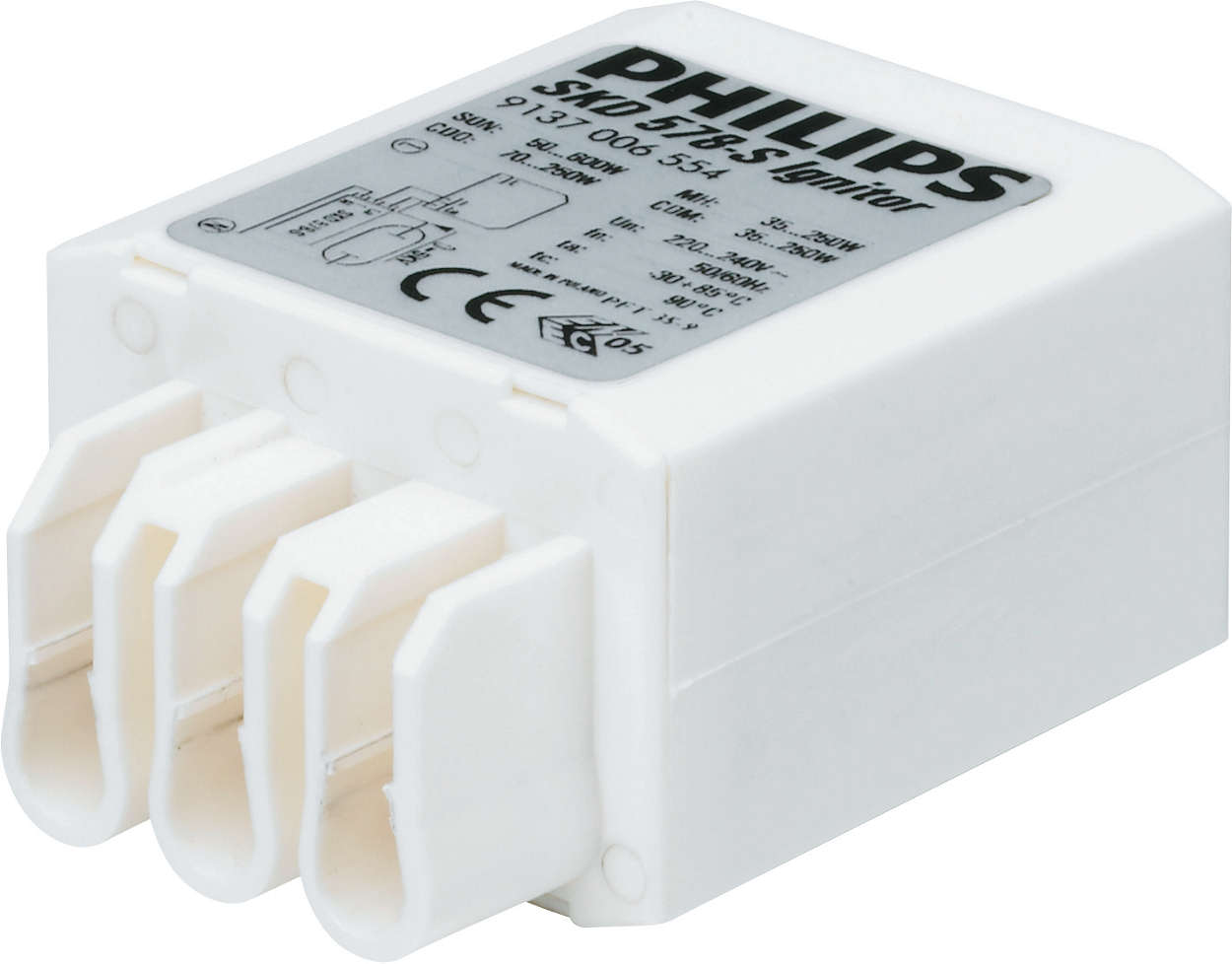 Compact ignitors for flexible luminaire design