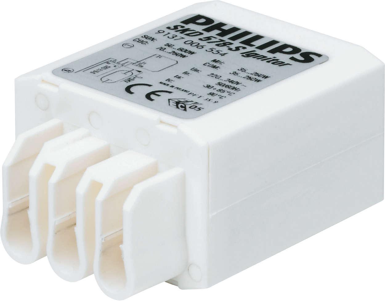 Компактные запалы для гибкого размещения светильников