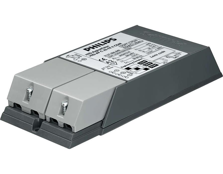 AspiraVision Compact (35, 50 и 70 Вт) для CDM — интеллектуальный ЭПРА