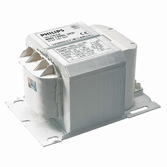 Simple, robust magnetic ballast