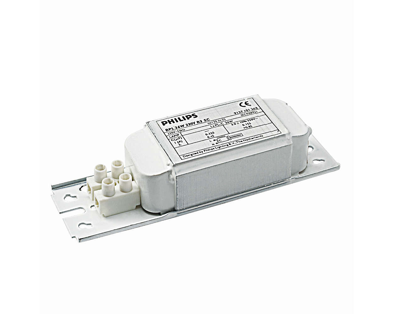 Standard electromagnetic ballast for compact fluorescent applications