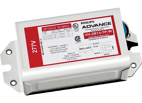 STANDARD MAG BALLAST (2) 26W COMPACT(2-PIN) 277V