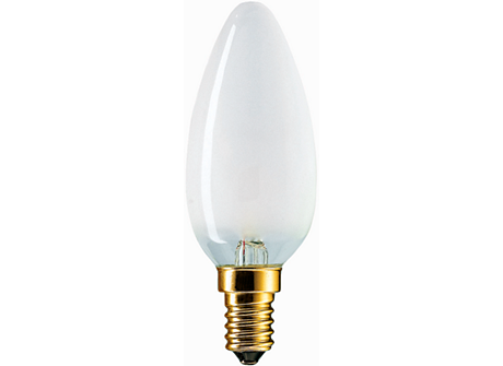 Standard 60W E14 220V B35 FR 1CT