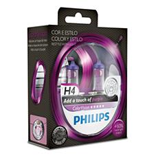 923496817102 Color Vision Purple lâmpadas para faróis automotivos
