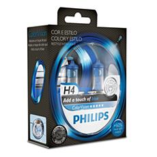 923499517102 -   Color Vision Blue Bombillas para faros delanteros de vehículos