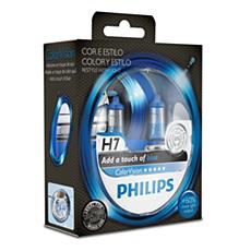 923499617102 -   Color Vision Blue lâmpadas para faróis automotivos