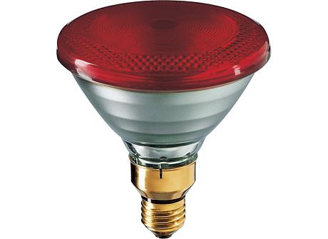 Refl IR 175W 115-125V Red 1CT