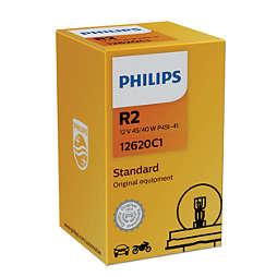 Standard lámpara para faros delanteros de auto