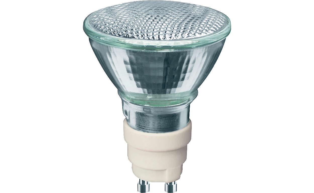 • 광채를 더하는 손쉬운 방법. 신뢰할 수 있는 MASTERColour의 품질과탁월한 출력 및 색 안정성을 자랑하는 50mm 반사판 램프가 결합된필립스의 신제품 MASTERColour CDM-R Mini는 고객의 브랜드 및 매장에최적의 솔루션을 제공합니다