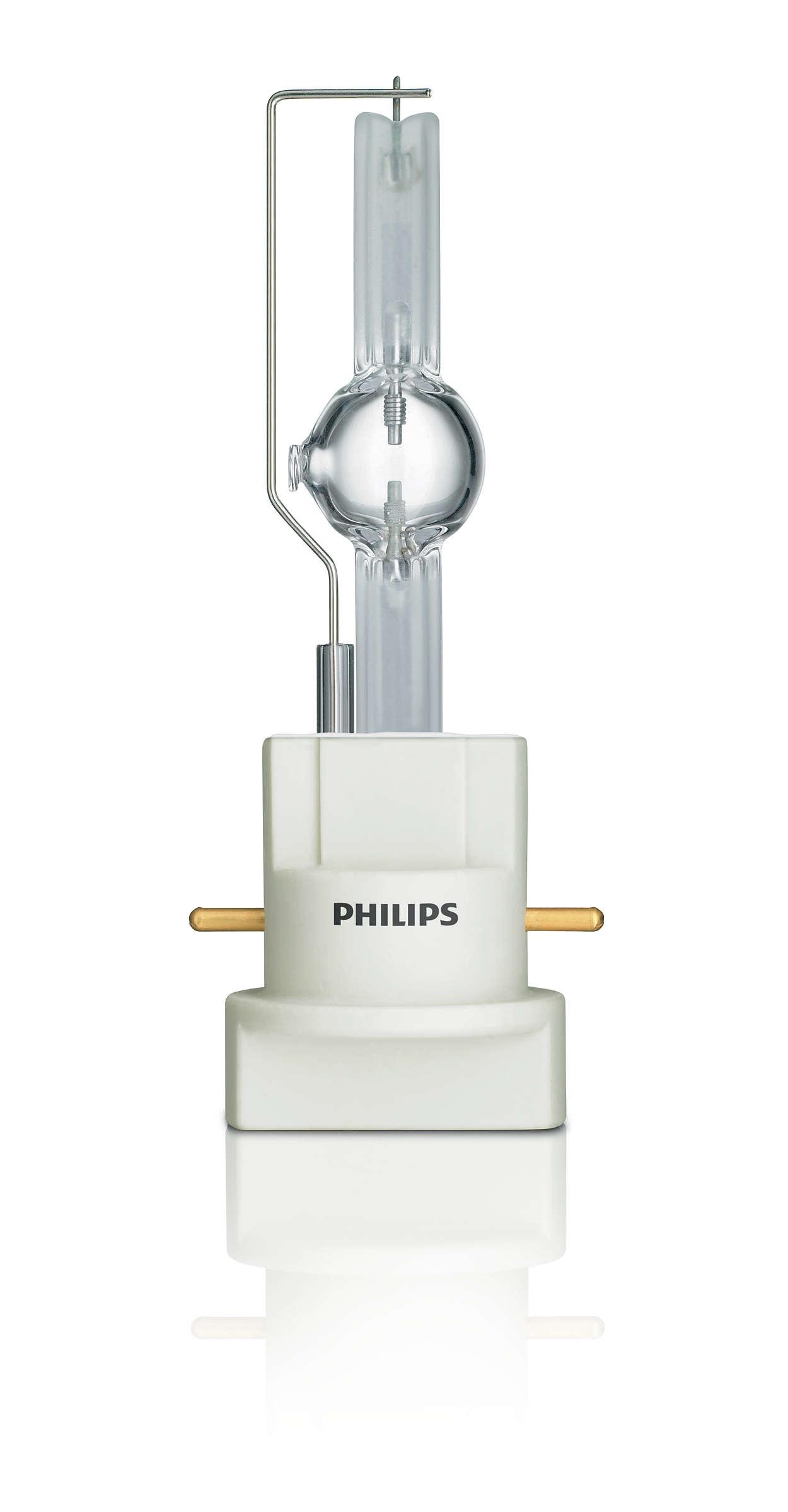 MSR Gold™ MiniFastFit – простая замена лампы всего за несколько секунд