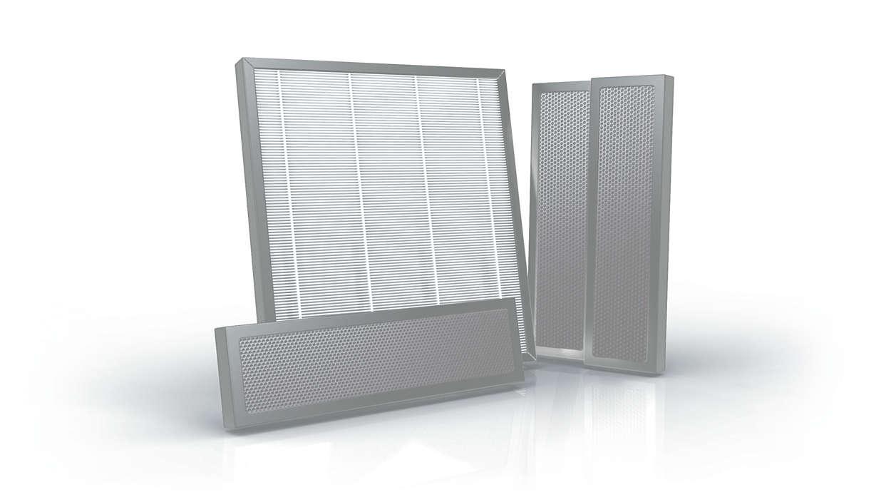 Para obtener aire limpio y fresco en el coche