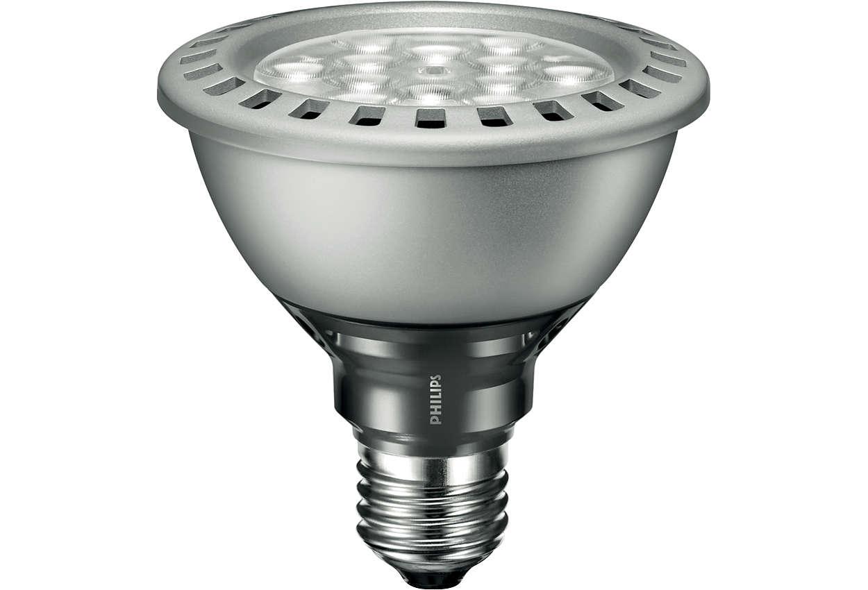 MASTER LEDspot PAR – The energy-saving alternative for lighting in public areas