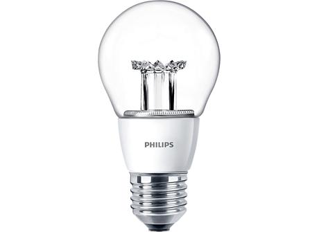 MASTER LEDbulb D 6-40W E27 827 A60 CL