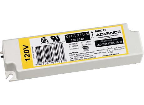 Xitanium 21W 0.70A 30V 0-10V DIM 277V
