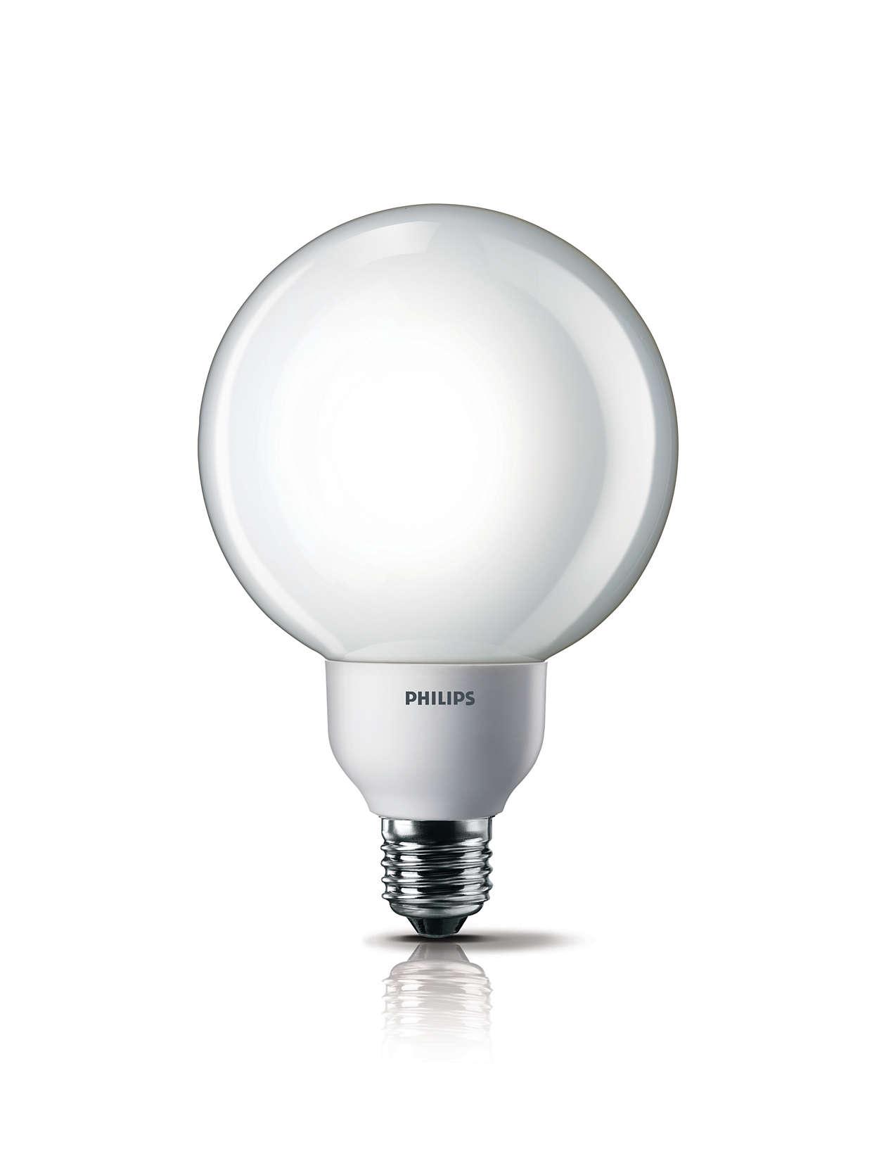 Energy-saving bulb in a classic shape