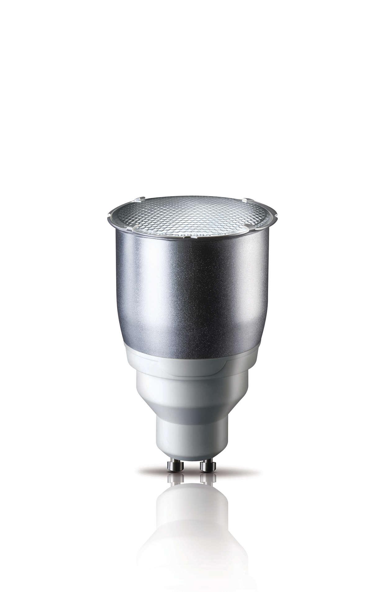 Energy saving bulb in a classic shape