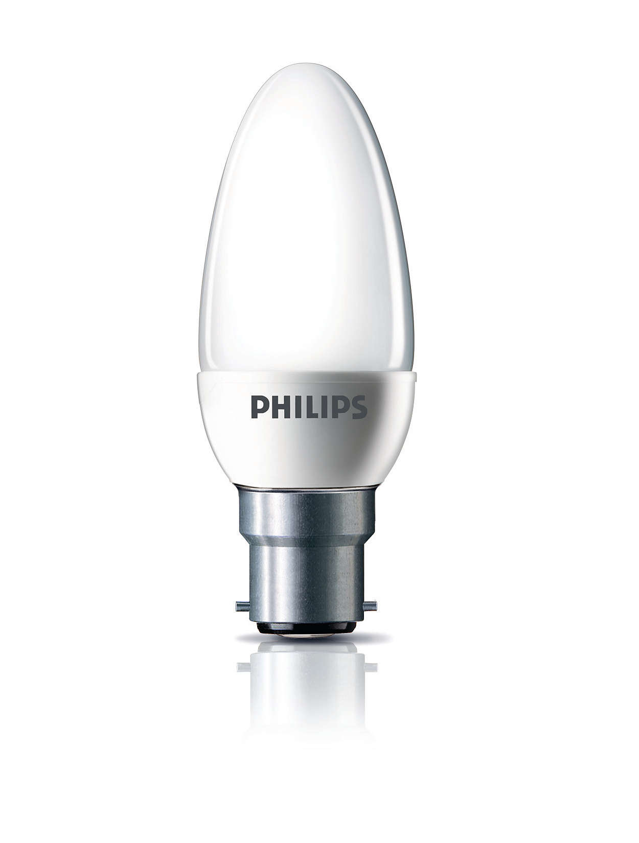 Energy-saving bulb in a classic shape