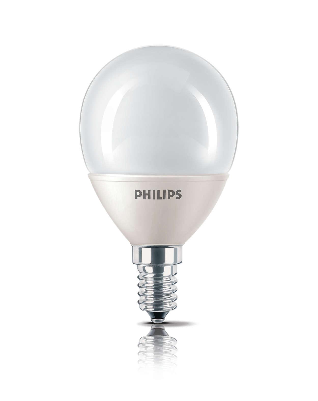 經典外形的節能燈泡