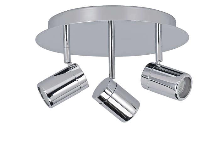 Éclairage moderne pour votre salle de bain