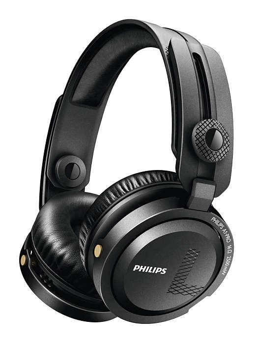 Fones de ouvido profissionais para DJs