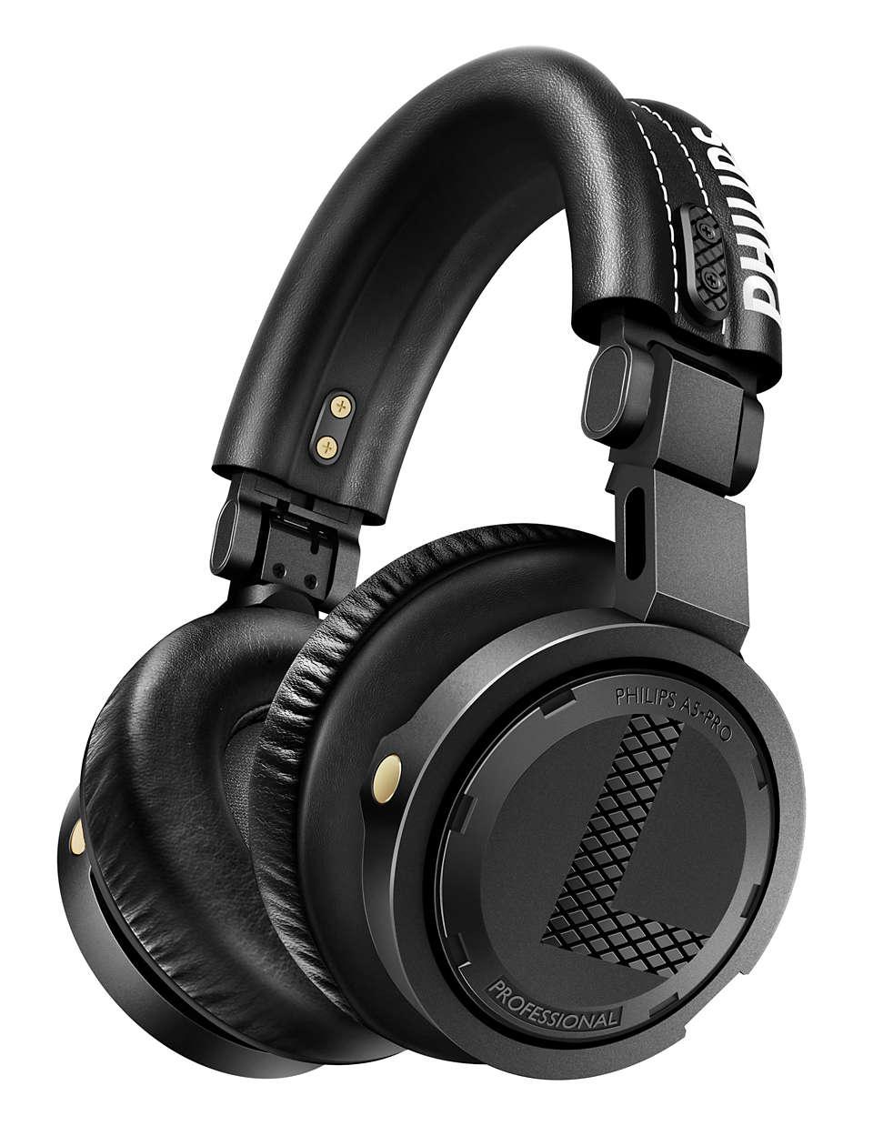 Profesjonelle DJ-hodetelefoner