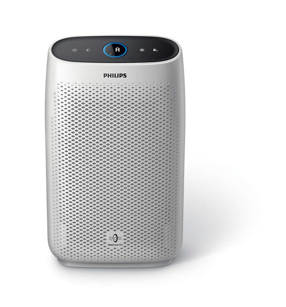 Tapasztalja meg a 99,9%-ban szennyezés- és allergénmentes levegőt