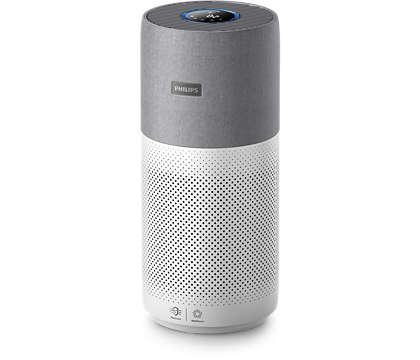 Udara bersih bebas alergen* dalam hitungan menit