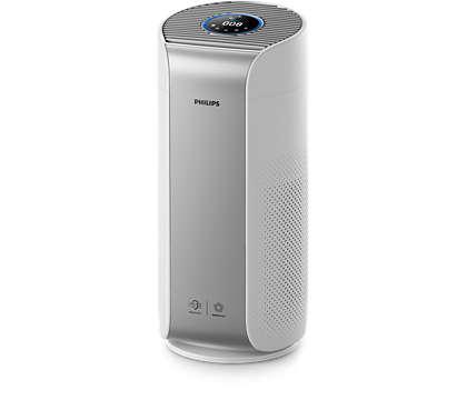 Чист въздух без алергени* за минути