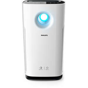 3000 series Air Purifier Anti-Allergen with NanoProtect Filter