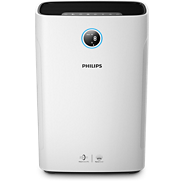 Purificateur et humidificateur d'air 2-en-1