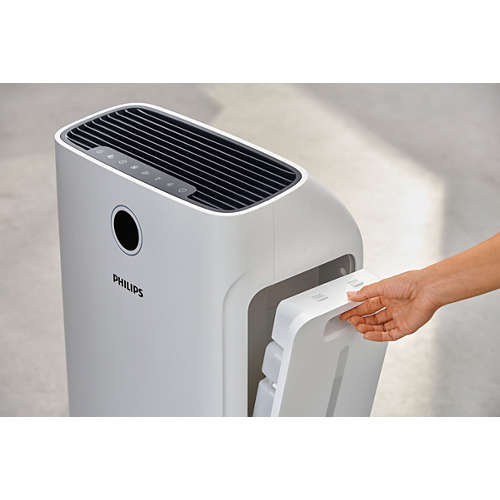 Purificateur et humidificateur d'air 2en1