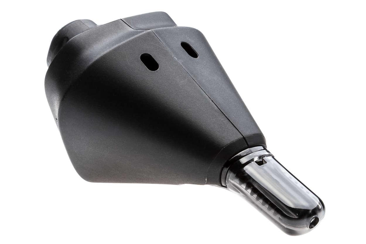 Część urządzenia golącego z technologią SkinIQ