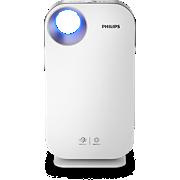 Philips Series 4500i Purificateur d'air AC4550/10 Élimine 99,9% des particules de 3nm, taille de la pièce: jusqu'à 104m², indicateur PM2.5, gaz et allergènes