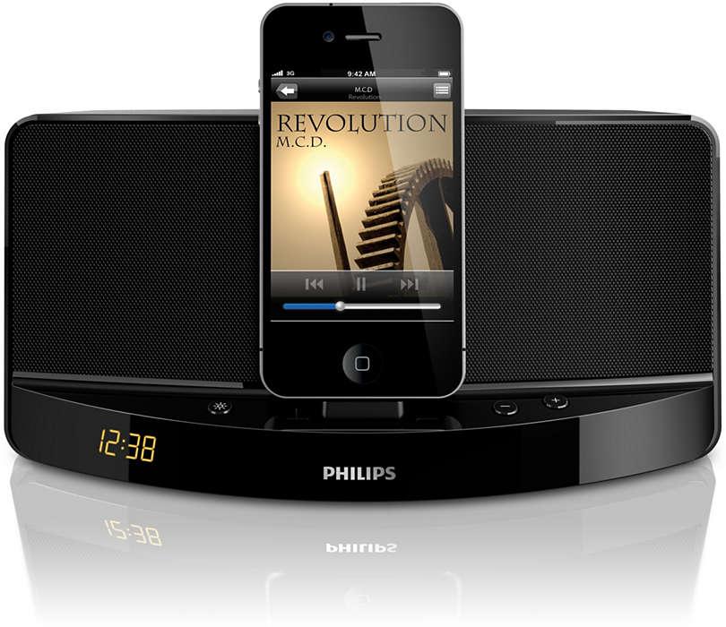 Profitez de la musique de votre iPod/iPhone