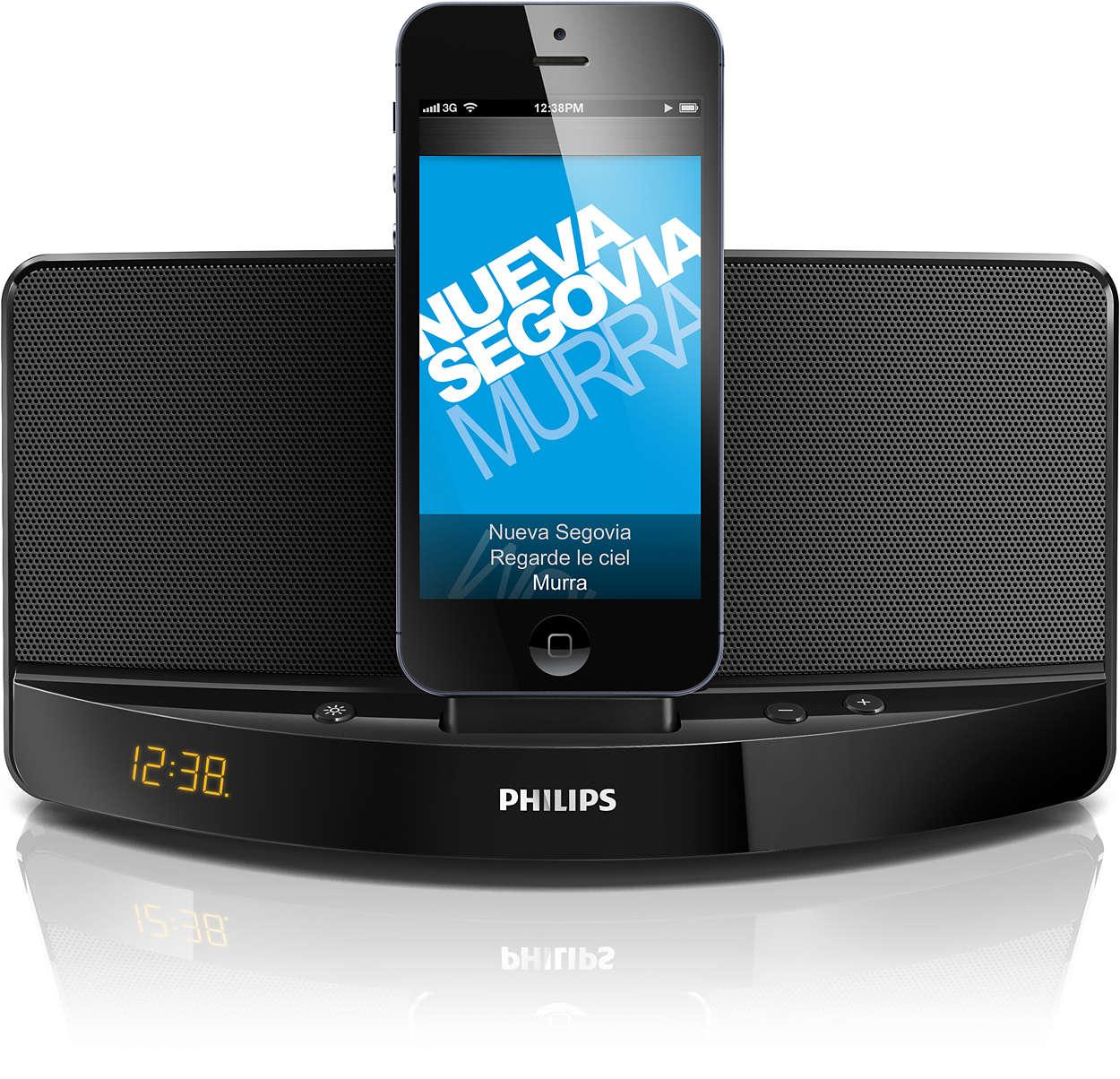 docking speaker ad305 37 philips. Black Bedroom Furniture Sets. Home Design Ideas