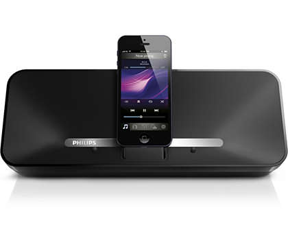 Enjoy music from your iPhone 5